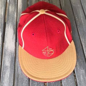 SF 49ers Fitted Cap